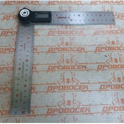 Транспортир-угломер электронный ЗУБР из нержавеющей стали / 34294