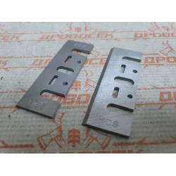Ножи для рубанка 82*29*3 мм (2 шт)  / 010217 (А1) / 304HO-823003M
