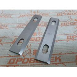 Ножи для рубанка 110*24*3 мм (2 шт) / 010218 (D1) / Rebir 5708С.2100.001