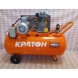 Компрессор с ременной передачей Кратон АС-530-200-BDH (530 л/ мин + ресивер 200 л) / 3 01 01 043