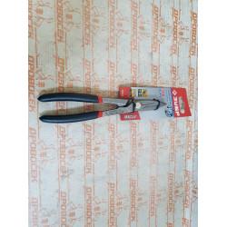 Ножницы по металлу цельнокованые 200 мм ЗУБР (сталь У8А, режет сталь до 0,9 мм) / 23015-20