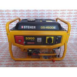 Бензиновый генератор STEHER GS-4500E с электростартером, 3300 Вт
