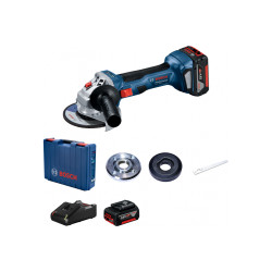 Аккумуляторная угловая шлифмашина Bosch GWS 180-LI 06019H90R0 (Зарядное и 2 АКБ)