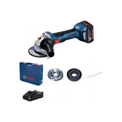 Аккумуляторная угловая шлифмашина Bosch GWS 180-LI (Зарядное и 1 АКБ)