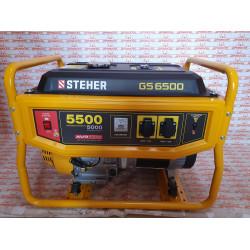 Бензиновый генератор STEHER GS-6500, 5500 Вт