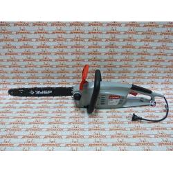 Электрическая цепная пила ЗУБР ЗЦП-2000-02 (2000 Вт + шина 40 см + продольный двигатель)