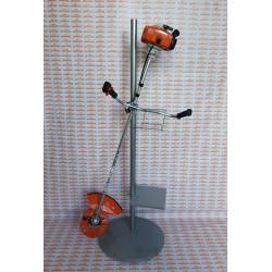 Бензиновый триммер STIHL FS 250 / 4134-200-0336 / двойной ремень, головка с леской + диск