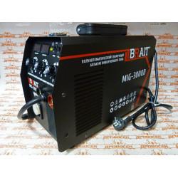 Инвертор сварочный полуавтоматический BRAIT MIG-300 (300 Ампер, съемный держак, сварка проволокой и электродом) / 18.01.007.041