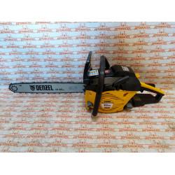 Бензопила Denzel DGS-5218, шина 45 см, 52 см3, 3.5 л.с, шаг 0.325, паз 1.5 мм, 72 звена / 95233