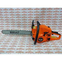 Бензопила BRAIT BR-5218 (18'; 0,325 1,5 72 зв; 3,3 л.с.) / 01.01.006.001