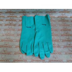 Перчатки KRAFTOOL нитриловые маслобензостойкие повышенной прочности, серия EXPERT, XL, толщина 0.45 мм / 11280-XL