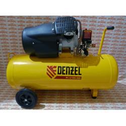 Компрессор воздушный Denzel PC 2/100-360, 2,3 кВт, 360 л/мин, 100 л, 10 бар / 58078
