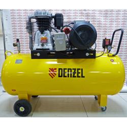 Компрессор Denzel DR5500/300, масляный ременный, 10 бар, производительность 850 л/м, мощность 5.5 кВт / 58069