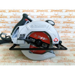Пила дисковая ЗУБР ПД-55, 90°-55 мм, диск 165 мм, 1300 Вт