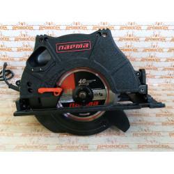 Пила дисковая электрическая Парма 200Д (2000 Вт + литая основа + плавный пуск + пропил 65 мм)