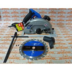 Пила дисковая, 90°-65 мм, диск 190 мм, 1600 Вт, ЗУБР ПДП-65 Профессионал