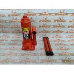 Домкрат гидравлический бутылочный STAYER RED FORCE Professional (2 тонны + высота: от 148 мм до 278 мм) / 43160-2