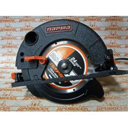 Пила электрическая дисковая ПАРМА 185Д (1750Вт, д.185/20мм, литое основание) / 02.004.00005