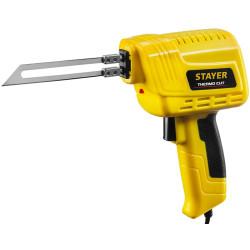 "Набор ""Thermo cut"" для терморезки пенопласта, пластика, STAYER 45255-H2, 150 Вт, 2 ножа"