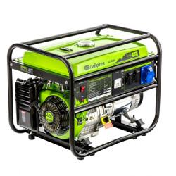 Генератор бензиновый Сибртех БС-8000, 6,6 кВт, 230В, четырехтактный, 25 л, ручной стартер / 94547