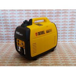 Генератор инверторный Denzel GT-1200iS, 1,2 кВт, 230 В, бак 2,4 л, закрытый корпус, ручной старт / 94701