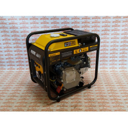Генератор инверторный Denzel GT-2500iF, 2,5 кВт, 230 В, бак 5 л, открытый корпус, ручной старт / 94704