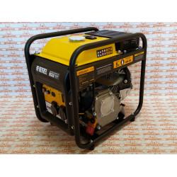 Генератор инверторный Denzel GT-3500iF, 3,5 кВт, 230 В, бак 5 л, открытый корпус, ручной старт / 94705