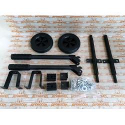 Набор колес + рукоятка № 2, для генераторов мощностью свыше 4000 Вт, ЗУБР НКР-2