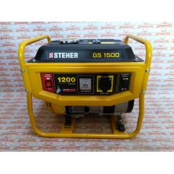 Бензиновый генератор STEHER GS-1500, 1200 Вт
