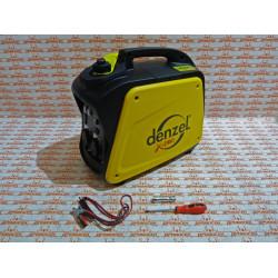 Генератор инверторный DENZEL GT-2100i, X-Pro 2,1 кВт, 220 В, бак 4,1 л, ручной старт / 94642