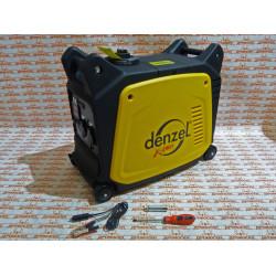 Генератор инверторный DENZEL GT-2600i, X-Pro 2,6 кВт, 220 В, цифровое табло, бак 7,5 л, ручной старт / 94643