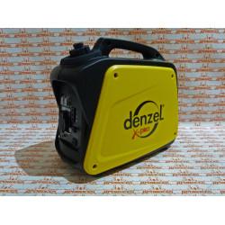Генератор инверторный GT-1300i, X-Pro 1,3 кВт, 220В, бак 3 л, ручной старт DENZEL / 94641