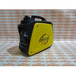 Генератор инверторный GT-950i, X-Pro (0,9 кВт, 220В, бак 2,1 л, ручной старт) DENZEL / 94640