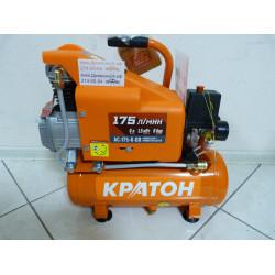 Компрессор с прямой передачей Кратон AC-175-6-DD (1100 Вт; 6 л; 175 л/мин + 220 В) / 3 01 01 030