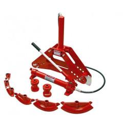 Гидравлический трубогиб ЗУБР, (10 т + ход штока 315 мм +  8 насадок + 4 ролика) / 43077-10