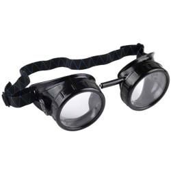 Защитные очки столяра STAYER с непрямой вентиляцией, поликарбонатная линза, жесткая оправа / 11025