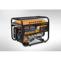 Генератор бензиновый CARVER PPG- 6500 (6,5 кВт, обмотка медь)