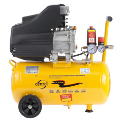 Компрессор воздушный PC 1/24-205 1,5 кВт, 206 л/мин, 24 л DENZEL / 58061