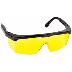 Очки STAYER защитные желтые, MASTER, регулируемые по длине дужки / 2-110453