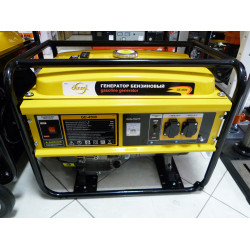 Бензиновый генератор DENZEL GE 4500 (4,5 кВт) / 94636