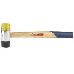 Молоток рихтовочный STAYER, 35 мм, деревянная рукоятка / 2040-35