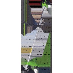 Бензиновый триммер Кратон GGT-1400H (3 л.с. + леска + диск + ремень на оба плеча + хром. двигатель + жесткий вал) / 3 16 02 019