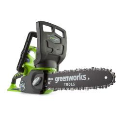 Аккумуляторная цепная пила Greenworks G40CS30 20117UA