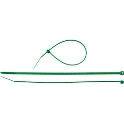 """Хомут нейлоновый ЗУБР, """"Мастер"""", зеленый, 2.5x150 мм, 100 шт. / 309060-25-150"""