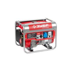 Бензогенератор ЗУБР ЗЭСБ-1200 (1,2 кВт + двигатель Honda GX100+ 5 лет гарантии)