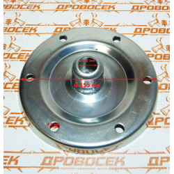 """Фланец для гидроаккумулятора Прима F01S, 1"""" (сталь) / фгн011"""