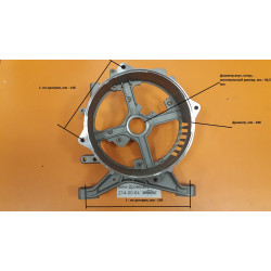 Крышка задняя генератора PPG-6500E, PPG-8000E, DY6500L, DY8000LX / Forza