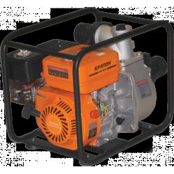 Мотопомпа Кратон GWP-80-02H (3,7 кВт + диаметр-80 мм + производительность - 50000 л/ч) / 5 05 01 014