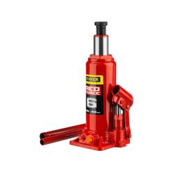 Домкрат гидравлический бутылочный STAYER RED FORCE Professional (6 тонн + высота: от 216 до 413 мм) / 43160-6