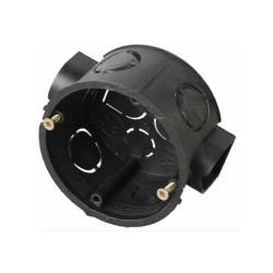 Коробка установочная круглая СВЕТОЗАР для подштукатурного монтажа, 68х40 мм / SV-54903